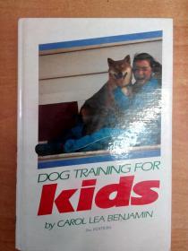 Dog Training for Kids 孩子训狗法 (英文版)