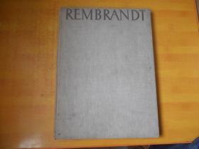 【EMBRANDT 伦勃朗】8开外文布面精装老画册 1942【看图】品好