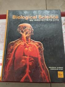 Biological Science: An Inquiry into Life 英文原版精装 生命科学探究生命
