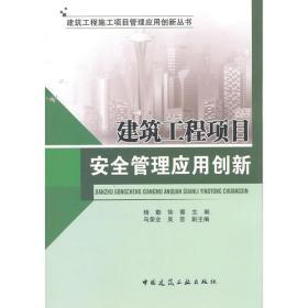 建筑工程施工项目管理应用创新丛书:建筑工程项目安全管理应用绰