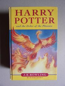 Harry Potter and the order of the phoenix  哈利.波特与凤凰社(英文原版书,精装)