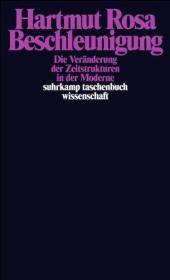 德文原版 Beschleunigung. Die Veränderung der Zeitstrukturen in der Moderne 加速:现代社会中时间结构的改变 哈特穆特·罗萨