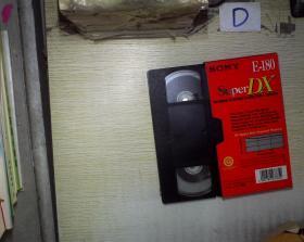 (录像带) SONY Super DX E-180(006)