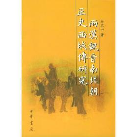 两汉魏晋南北朝正史西域传研究  正版无笔记
