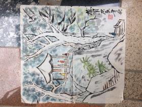 《榕阴》庚辰年秋---原画