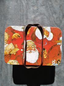 圣诞老人泡泡糖铁盒子(80-90年代)!