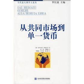 正版图书 当代意大利学人论丛:从共同市场到单一货币:欧盟的一体化政策
