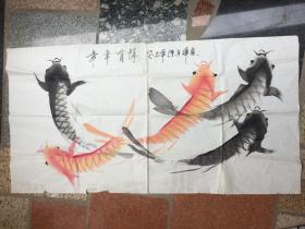 《年年有鱼》癸已年---原画