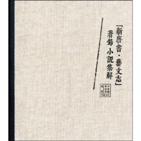 新唐书艺文志著录小说集解