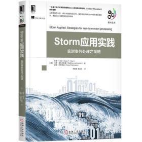 Storm应用实践—实时事务处理之策略_9787111586210