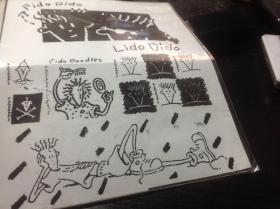 买满就送  Fido Dido七喜小子  品牌粘纸一张  正版  尺寸16.5 x 13
