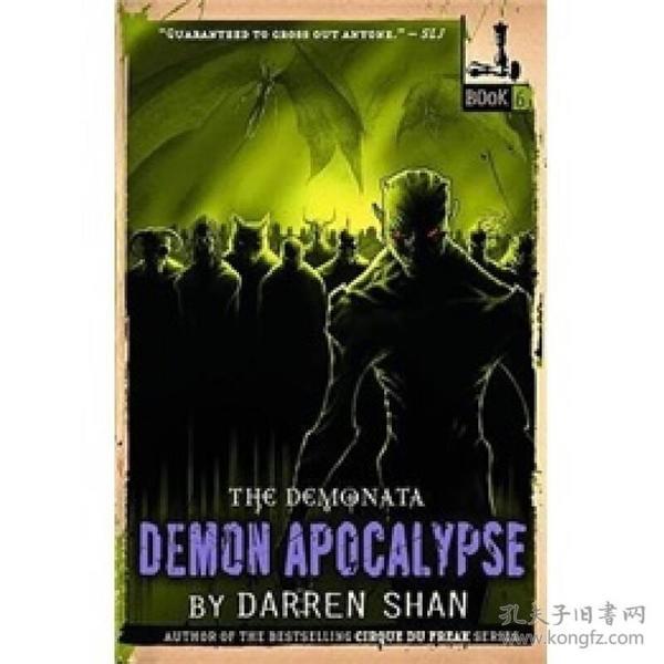 The Demonata #6 Demon Apocalypse
