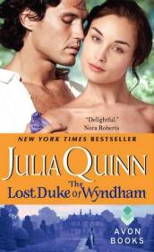 Two Dukes of Wyndham Book 1: The Lost Duke of Wyndham