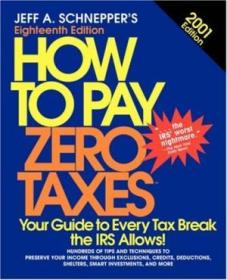 How To Pay Zero Taxes  2001
