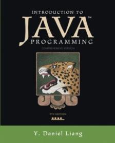 Introduction To Java Programming  Comprehensive Version (9th Edition)