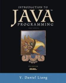 Introduction To Java Programming  Brief Version (9th Edition)