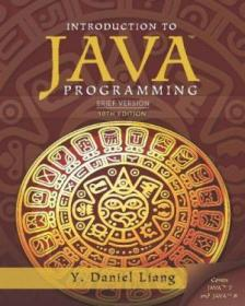 Introduction To Java Programming: Brief Version  10th Edition