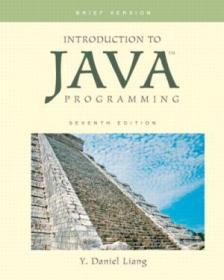 Introduction To Java Programming  Brief Version (7th Edition)