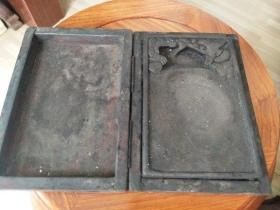 清代老砚台原盒