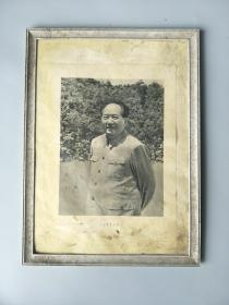 文革物品-毛主席老画报画像宣传画-伟人头像-红色老货怀旧收藏