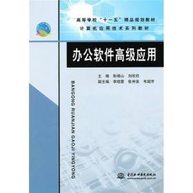"""计算机应用技术系列教材·高等学校""""十一五""""精品规划教材:办公软件高级应用"""