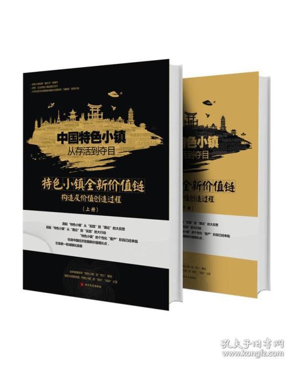 中國特色小鎮從存活到奪目——特色小鎮全新價值鏈構造及價值創造過程(套裝共2冊)