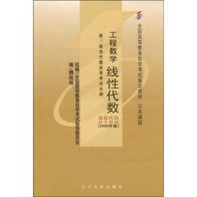 工程数学线性代数(课程代码 2198)(2000年版)
