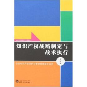 知识产权战略制定与战术执行