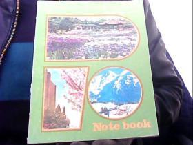 金狮牌世界风光笔记本 【 World scenery Notebook(日本大坂,瑞士)】