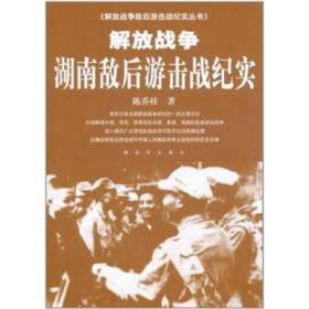解放战争湖南敌后游击战纪实--解放战争敌后游击战纪实丛书
