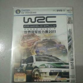 世界冠军拉力赛2011【游戏光盘DVD】..