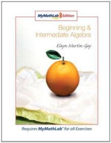Beginning & Intermediate Algebra  Mymathlab Edition (4th Edition)