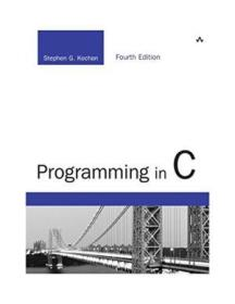 Programming In C (4th Edition) (developers Library)