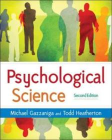 Psychological Science: Mind  Brain  And Behavior (second Edition)