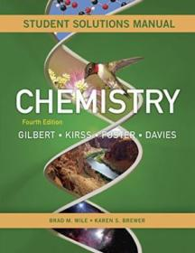 Students Solutions Manual: For Chemistry: The Science In Context  Fourth Edition