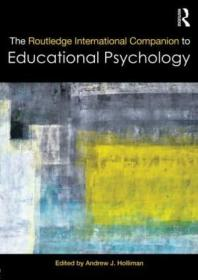 The Routledge International Companion To Educational Psychology (routledge International Companions)
