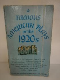 Famous American Plays of the 1920s (美国文学/戏剧)英文原版书