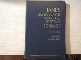 JANE'S UNDERWATER WARFRE SYSTEMS 1990-91简氏水下作战系统 第二版