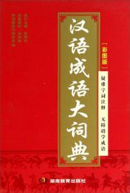 彩图版汉语成语大词典