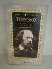 阿尔弗雷德·丁尼生 Alfred Lord Tennyson:Poems The Penguin Poetry Library Selected by W. E. Williams (Penguin 1953年版) (诗歌/英) 英文原版书