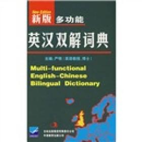 新版多功能英汉双解词典