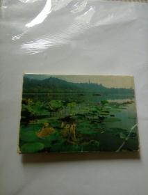 西湖(四)1985年7张明信片