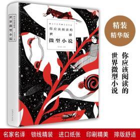 你应该阅读的世界微型小说 小说 青春文学 经典 短篇小说集精选 当代文学书籍