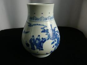清三代青花赏瓶
