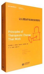 临床心理学经典著作译丛:让心理治疗生效的实用原则上海教育车笠、何启亮、陆颖9787544464710