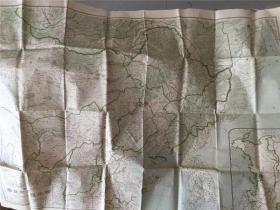 日本俄国侵华史料:1918年日本出版的东部西伯利亚大全图一张,内有满洲国、外蒙古、中俄交界、东西比利亚、朝鲜、欧亚露西亚现势一览图等,孔网最低价