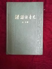 汉语语音史(精装)