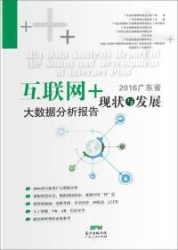 """2016广东省""""互联网+""""现状及发展大数据分析报告"""