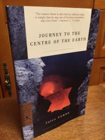 Journey to the Centre of the Earth by JulesVerne -- 凡尔纳 《地心之旅》英文版 - modern library 出品