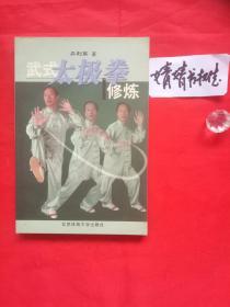 武式太极拳修炼(正版/形意八卦内家拳类精典书籍.真人像片演示)